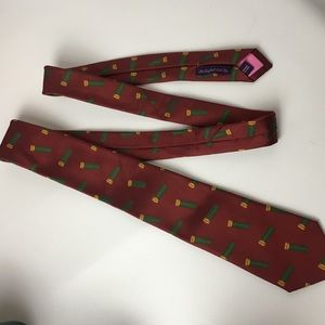 seaward & stearn Accessories - Seaward & Stearn Woven Silk Tie Shotgun Shells